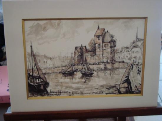 La lieutenance d'Honfleur 300 euros
