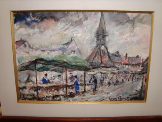 Marché d'Honfleur 300 euros