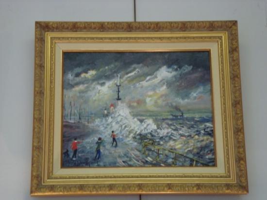 La vague digue nord Le Havre